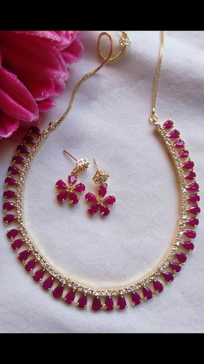 Purple Women's Jewellery Sets