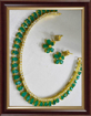 Green Women's Jewellery Sets