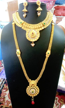 Fashion Jewellery Set for Women (Golden)