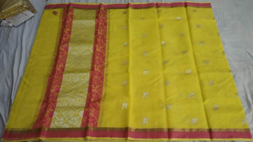 Kota Doriya Real Gold And Silver Zari Saree With Running Blouse
