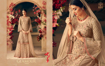 Buy Faux Georgette Palazzo Suits, Embroidery Palazzo Suits, Faux Georgette Salwar Kameez  in Peach Color on UdaipurBazar.com