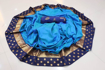 Blue Sana Silk Saree with Heavy Jekard Patta and Jekard Blouse Piece at Best Prices in Udaipur