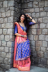 Banarasi Silk Weaving Patola Saree