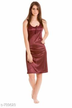 Satin Nighty Dress  1