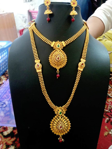 Artificial Jewellery Necklace with Earrings