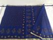 Kota Doriya Saree  in Navy Blue Color