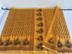 Kota Doriya Saree  in Mustard Color
