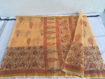 Kota Doriya Saree  in Peach Color