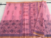 Kota Doriya Saree  in Pink Color