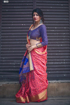 Banarasi Weaving Patola Saree  in Pink Color