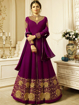 Embroidery, Zari and Stone work Gowns