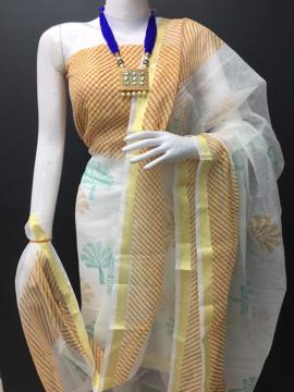 Pure Kota Doria Leheriya Salwar Suits