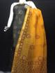 Black Colour Cotton Kota Doria Suit