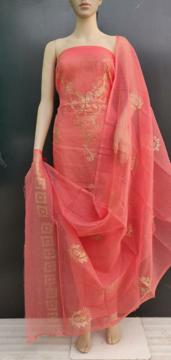 Picture of Kota Doria Glitter Paste Dress Material