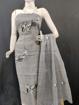 Kota Doria Embroidery Suits Dress Material Gray Color