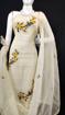 Kota Doria Embroidery Suits Dress Material Pearl Bush