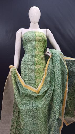Kota Doria print suits