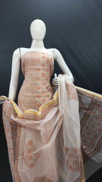 Kota doria printed suits for women