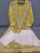 Yellow Luchnowi Chikankari Sharara Dress