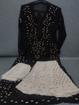 Black Luchnowi Chikankari Sharara Dress