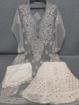 Grey Luchnowi Chikankari Sharara Dress