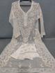 White Luchnowi Chikankari Kurti With Pants (white)