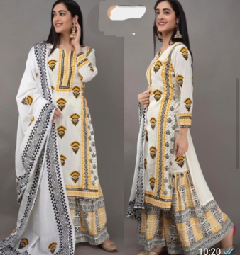 Kurti Sharara Set for Women