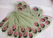 Kota doria embroidery saree in numerous shades