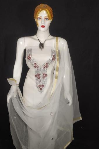 Kota doria suits with kundan work