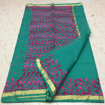 Green Color Aari Work Sarees