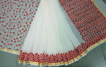 Latest Kota Sarees With Thread Work