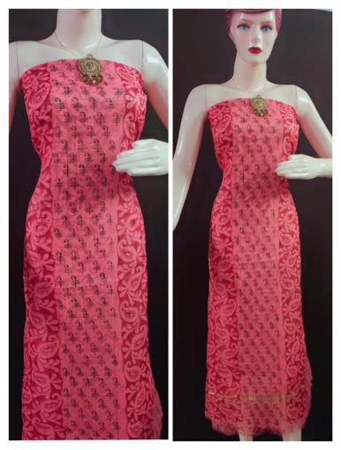 Pure kota doria block print salwar suits for women