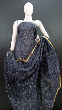 Kota doria beautiful printed dress material