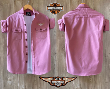 Harley Davidson Shirt - Pink