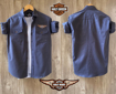 Harley Davidson Shirt - Steel Blue