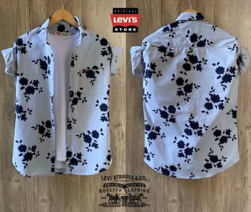 Levis floral print shirts - Blue