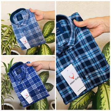 Allen Solly Check Shirts