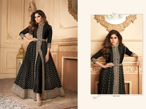 Ethnic Gown For Women Online - Black