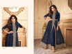 Ethnic Gown For Women Online - Blue