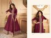 Ethnic Gown For Women Online - Burgundy
