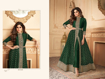 Ethnic Gown For Women Online - Green