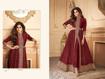 Ethnic Gown For Women Online - Maroon
