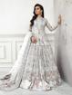 Designer pakistani style gowns - White