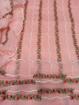 Floral embroidery Kota Doria Dress Material - Rose Pink