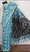 Cotton Ikkat sarees for summers - blue