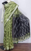 Cotton Ikkat sarees for summers - green