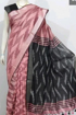 Cotton Ikkat sarees for summers - pink