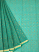 Koto Doria Printed Sarees for summers - Sea Green