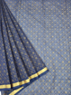 Koto Doria Printed Sarees for summers - Navy Blue