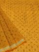 Koto Doria Printed Sarees for summers - Yellow